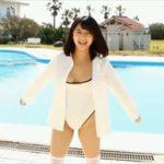 徳江かなグラビア動画 ハイレグワンピース水着姿のぴちぴち感が半端ない