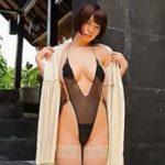 菜乃花グラビア動画 破廉恥過ぎるバックヌードなハイレグ過激衣装がやばい