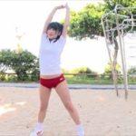 神谷えりなグラビア動画 赤ブルマ体操服を脱ぎビキニの美ボディを野外露出