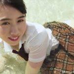 石神澪グラビア動画 ズブ濡れJK制服ガールの美巨乳なエロボディ