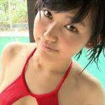 咲村良子グラビア動画 穴開き競泳水着のぷるるん美おっぱいがたまらない