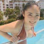 紗綾グラビア動画 美おっぱいボディなエロかわ女子とプールデート