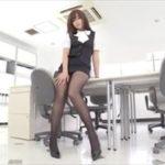 山中真由美グラビア動画 メガネOL女子がオフィスでエッチなことを・・