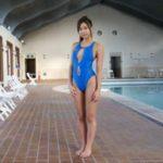 大貫彩香グラビア動画 美人教師が穴あき競泳水着でプライベートレッスン