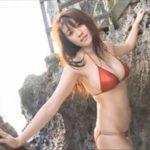 原幹恵グラビア動画 サンセットビーチに舞い降りたメタリックビキニ美女