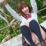 伊藤里織グラビア動画 JK制服パンチラからブラ&ショーツ美ボディを野外露出