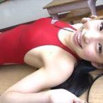 鶴巻星奈グラビア動画 ツインテール美少女が競泳水着で魅せるスレンダーボディ