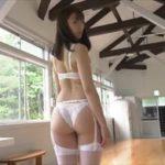 藤堂さやかグラビア動画 清楚系ファッションからガーターランジェリーを魅せる