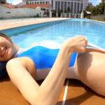 佐野水柚グラビア動画 超絶ハイレグ競泳水着女子の美しいボディライン