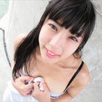 岡田めぐグラビア動画 ミニワンピを脱ぎ可愛い下着の美巨乳ボディを野外露出!
