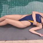 森咲智美グラビア動画 ハイレグ競泳水着の美乳・美脚・美尻ボディに釘付け!