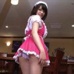 岸明日香グラビア動画 メガネのカフェ店員が魅せるボインな凄エロ巨乳ボディ