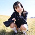 沖田あのグラビア動画 スクールブレザー制服を脱いで魅せる白下着の美乳ボディ
