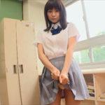 桜木美涼グラビア動画 白シャツ&紺リボン&灰色プリスカ制服のエロかわ女子