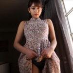 徳江かなグラビア動画 花柄ワンピでブラ&ショーツ見せ&アイス舐め