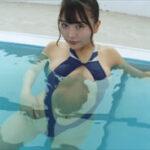 橋本ひかりグラビア動画 食い込み感がエグい競泳水着で魅せるGカップボディ