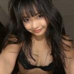 西本ヒカルグラビア動画 エチエチな黒ランジェリーの美おっぱい女子